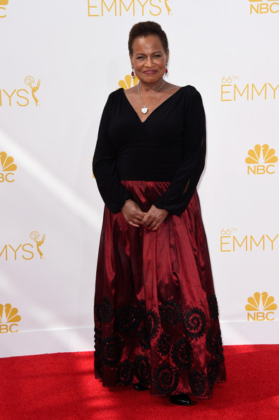 Actress Michelle Hurst attends the 66th Annual Primetime Emmy Awards held at Nokia Theatre L.A. Live on August 25, 2014 in Los Angeles, California.