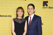 IRC President and CEO David Miliband (R) and Louise Miliband attend the Annual Freedom Award Benefit hosted by the International Rescue Committee at the Waldorf=Astoria hotel on November 6, 2013 in New York City.