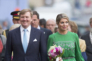 King Willem-Alexander of The Netherlands and Queen Maxima of The Netherlands attend the Freedom Concert on May 5, 2014 in Amsterdam, Netherlands.