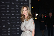 Trinny Woodall attends the preview of The Glamour of Italian Fashion exhibition at Victoria & Albert Museum on April 1, 2014 in London, England.