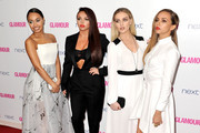 (L-R) Leigh-Anne Pinnock, Jesy Nelson, Perrie Edwards and Jade Thirlwall from Little Mix attend the Glamour Women of the Year Awards at Berkeley Square Gardens on June 3, 2014 in London, England.