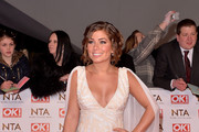 Nikki Sanderson attends the National Television Awards at 02 Arena on January 21, 2015 in London, England.