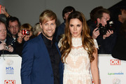 Kian Egan and Jodi Albert attend the National Television Awards at 02 Arena on January 22, 2014 in London, England.