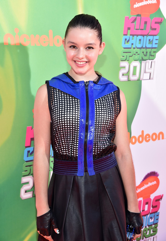 Fatima Ptacek in Arrivals at the Nickelodeon Kids' Choice ...