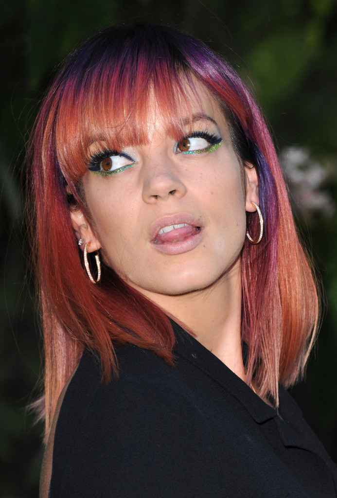 Lily Allen in Arrivals at the Serpentine Gallery Summer