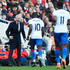 Alan Pardew Yannick Bolasie Photos - Yannick Bolasie of Crystal Palace celebrates scoring his team's first goal of the game with Alan Pardew Manager of Crystal Palace during the Barclays Premier League match between Arsenal and Crystal Palace at the Emirates Stadium on April 17, 2016 in London, England. - Arsenal v Crystal Palace - Premier League