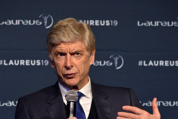 Arsene Wenger Winners Press Conference And Photocalls - 2019 Laureus World Sports Awards - Monaco
