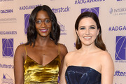 Nia Batts and Sophia Bush arrive at the Art Directors Guild 23rd Annual Excellence In Production Design Awards at InterContinental Los Angeles Downtown on February 2, 2019 in Los Angeles, California.