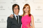 Musician Ben Folds and actress Alicia Witt attend The Art of Elysium's 7th Annual HEAVEN Gala presented by Mercedes-Benz at Skirball Cultural Center on January 11, 2014 in Los Angeles, California.