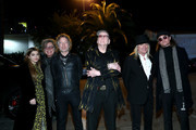 (L-R) Lilah Petersson, Tom Petersson, Daxx Nielsen, Rick Nielsen, Robin Zander, and Robin Taylor Zander Jr. attend The Art Of Elysium Presents WE ARE HEAR'S HEAVEN 2020 at Hollywood Palladium on January 04, 2020 in Los Angeles, California. (Photo by Rich Polk/Getty Images  for The Art of Elysium)Tom Petersson