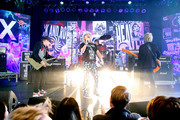 (L-R) Rick Nielsen, Robin Zander, Daxx Nielsen, and Tom Petersson of music group Cheap Trick perform onstage at The Art Of Elysium Presents WE ARE HEAR'S HEAVEN 2020 at Hollywood Palladium on January 04, 2020 in Los Angeles, California.