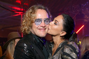 Peter Dundas (L) and Moran Atias attend Michael Muller's HEAVEN, presented by The Art of Elysium, on January 5, 2019 in Los Angeles, California.