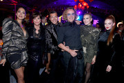 (L-R) Moran Atias, Kris Jenner, Evangelo Bousis, Peter Dundas, Dree Hemingway, and Larsen Thompson attend Michael Muller's HEAVEN, presented by The Art of Elysium, on January 5, 2019 in Los Angeles, California.