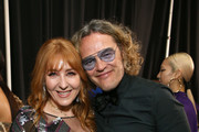 Charlotte Tilbury (L) and Peter Dundas attend Michael Muller's HEAVEN, presented by The Art of Elysium, on January 5, 2019 in Los Angeles, California.