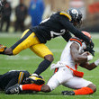 Artie Burns Pittsburgh Steelers vs. Cleveland Browns