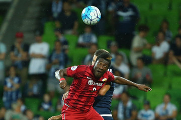 Asamoah Gyan AFC Champions League - Melbourne Victory v Shanghai Sipg
