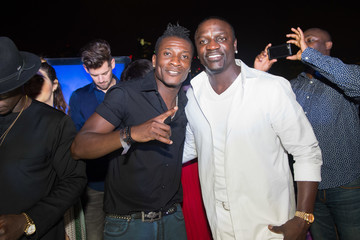 Asamoah Gyan Global Launch of Tulwe Music App Hosted by Boris Kodjoe, with Performances by Akon, Davido, and Becca
