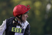 Frankie Dettori after riding Star Catcher to win The Qipco British Champions Fillies & Mares Stakes during the QIPCO British Champions Day at Ascot Racecourse on October 19, 2019 in Ascot, England.