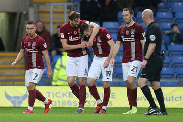 Ash Taylor Oxford United v Northampton Town - Sky Bet League One
