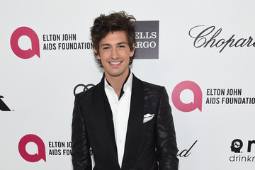 Asher Monroe Arrivals at the Elton John AIDS Foundation Oscars Viewing Party — Part 3