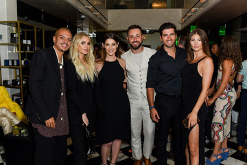Ashlee Simpson Colin Egglesfield Ira And Bill DeWitt Host Saint Candle Launch Benefiting St. Jude Children's Research Hospital At Mr. Chow