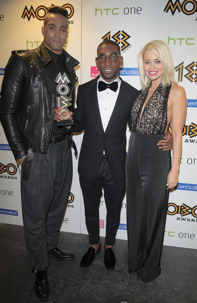 Ashley Banjo Kimberley Wyatt Tinie Tempah Ashley Banjo And Kimberley Wyatt Photos The 18th Annual Mobo Awards Press Room Zimbio
