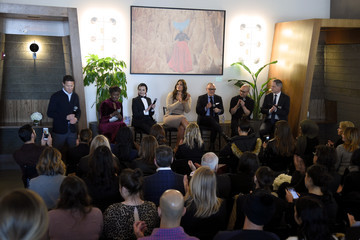 Ashley Graham The Changing Face Of Beauty Panel Discussion at Spring Place