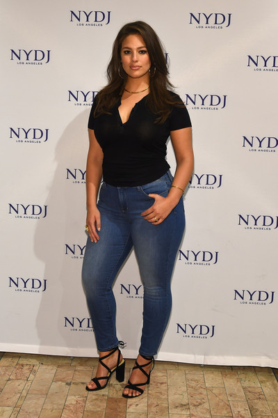 Ashley Graham Photos Photos - NYDJ 2016 Fit to Be Campaign ...