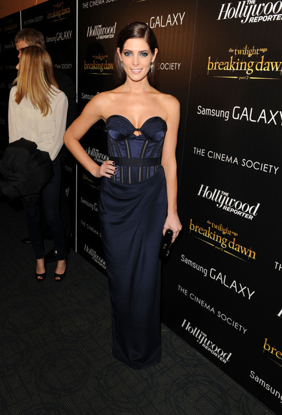 "Ashley Greene - The Cinema Society With The Hollywood Reporter & Samsung Galaxy Host A Screening Of ""The Twilight Saga: Breaking Dawn Part 2"""
