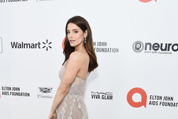 Ashley Greene 28th Annual Elton John AIDS Foundation Academy Awards Viewing Party Sponsored By IMDb, Neuro Drinks And Walmart - Red Carpet