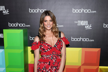 Ashley Greene Boohoo Block Party With Special Guest, Zendaya