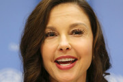 Actress/activist Ashley Judd speaks at a press conference held to announce her appointment as The UN Population Fund's (UNFPA) Goodwill Ambassador at United Nations on March 15, 2016 in New York City.