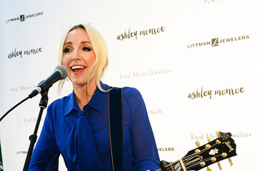 Ashley Monroe Ashley Monroe Performing At Littman Jewelers Supporting The Exclusive Platinum Love Bridal Jewelry Collection