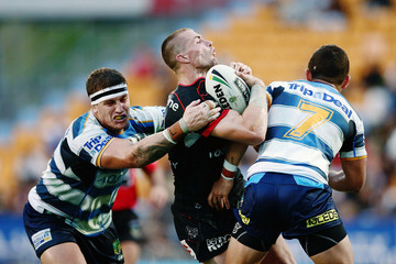 Ashley Taylor NRL Rd 5 - Warriors v Titans