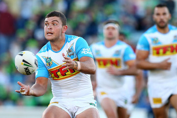 Ashley Taylor NRL Rd 9 - Raiders vs. Titans
