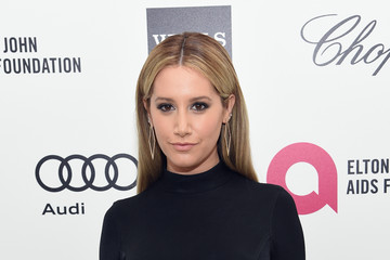 Ashley Tisdale Arrivals at the Elton John AIDS Foundation Oscars Viewing Party — Part 3