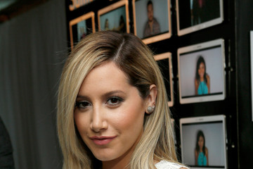 Ashley Tisdale Green Room at the Young Hollywood Awards