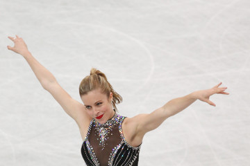 Ashley Wagner ISU World Figure Skating Championships: Day 2