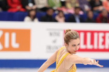 Ashley Wagner ISU World Figure Skating Championships 2014 - DAY 4
