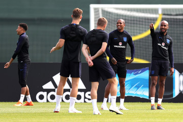 Ashley Young England Media Access - 2018 FIFA World Cup Russia
