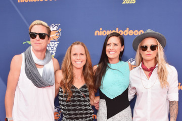 Ashlyn Harris Nickelodeon Kids' Choice Sports Awards 2015 - Red Carpet