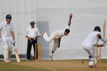 Ashok Dinda England v India 'A' - Day Two