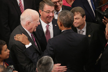 Ashton Carter President Obama Delivers His Last State of the Union Address to Joint Session of Congress