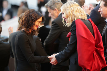 Asia Argento Sting Performs To Close The 71st Annual Cannes Film Festival