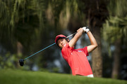 Chang-Won Han of South Korea tees off on the 6th hole during the day three of Asian Amateur Championship at the Mission Hills Golf Club on October 31, 2009 in Shenzhen, Guangdong, China.