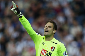 Asmir Begovic West Bromwich Albion v AFC Bournemouth - Premier League