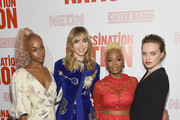 "Abra, Suki Waterhouse, Anika Noni Rose and Odessa Young attend The ""Assassination Nation"" New York Screening at Metrograph on September 17, 2018 in New York City."