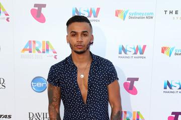 Aston Merrygold 29th Annual ARIA Awards 2015 - Arrivals