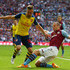Ron Vlaar Photos - Ron Vlaar of Aston Villa tackles Aaron Ramsey of Arsenal during the FA Cup Final between Aston Villa and Arsenal at Wembley Stadium on May 30, 2015 in London, England. - Aston Villa v Arsenal - FA Cup Final