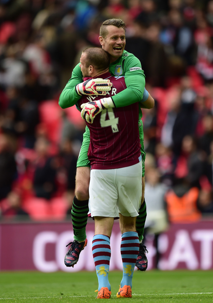 Shay Given, Ron Vlaar - Ron Vlaar Photos - Aston Villa v ...